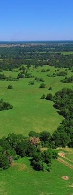 Texas Aerial Landscape